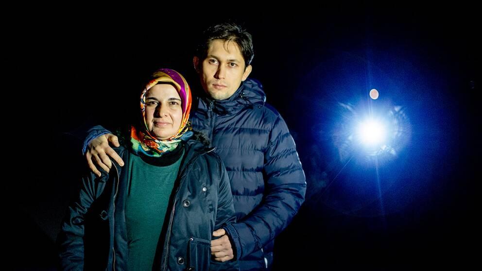 Hatice Ozcelik och Suheyl Ozcelik