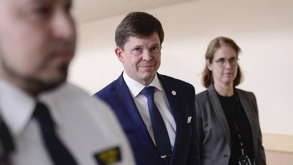 Riksdagens talman Andreas Norlén kommer att föreslå Löfven som statsminister på onsdagen.