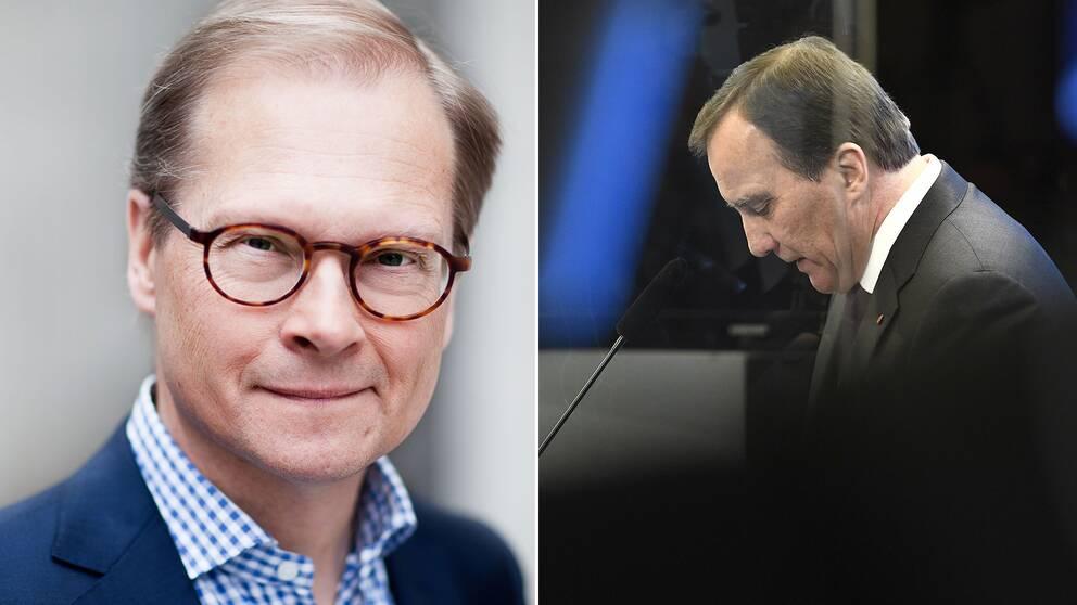 Mats Knutson menar att det är kört för Stefan Löfven inför fredagens omröstning.