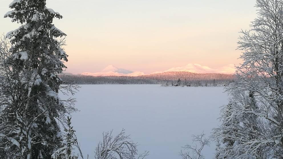 Västansjö Dikanäs Lappland