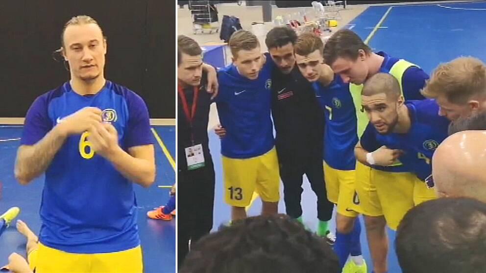 Sverige förlorade semifinalen