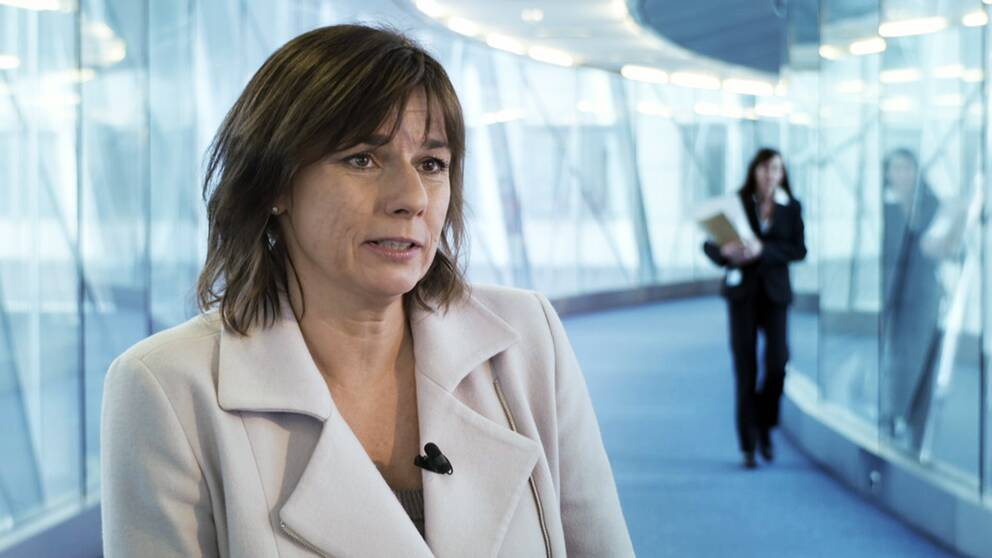 Miljöpartiets EU-kandidat Isabella Lövin.