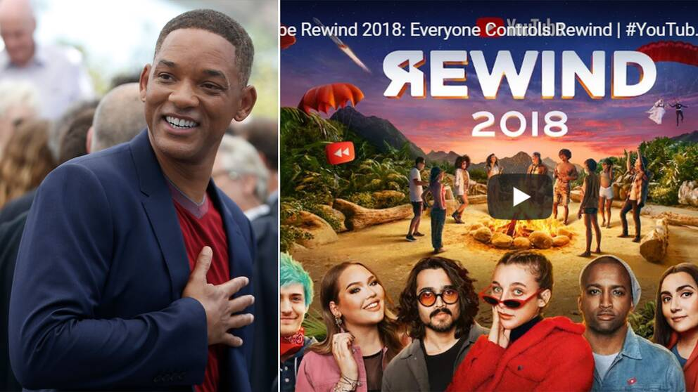Will Smith och Youtube Rewinds tumnagel