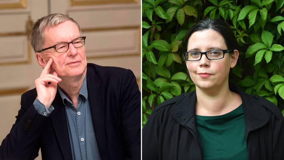 Författaren Elise Karlsson beskriver Anders Olssons erbjudande om 60000 kronor från Akademien som ett skämt.