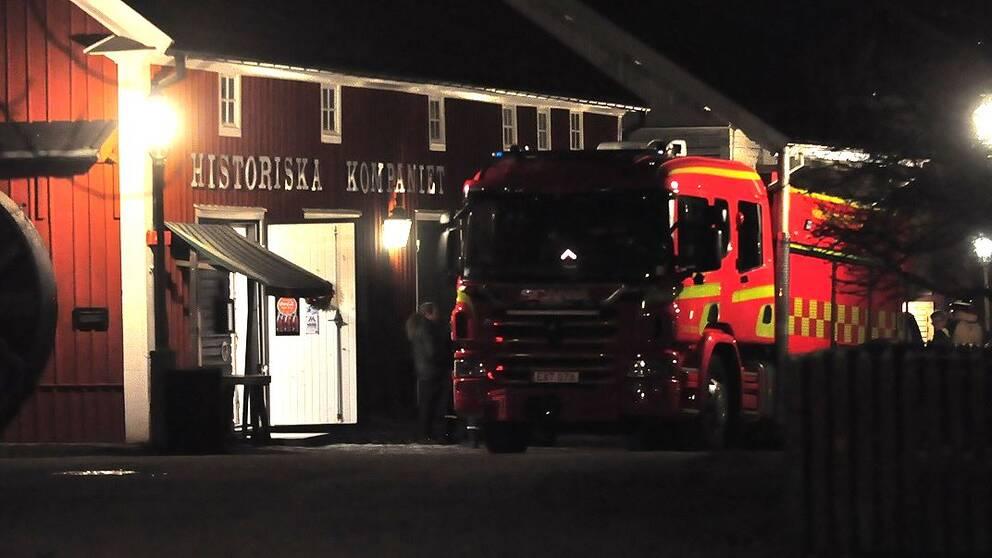 En omkom i brand i linkoping
