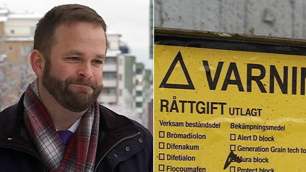 Jonas Naddebo (C), kultur- och stadsmiljöborgarråd i Stockholms stad
