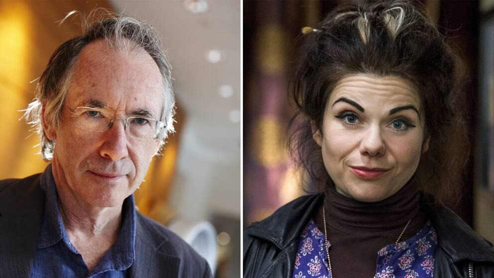 Författarna Ian McEwan och Caitlin Moran är några av brevförfattarna.