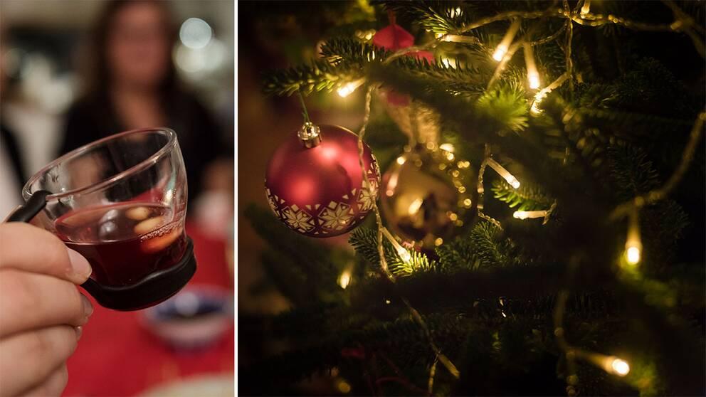 Glögg och julgran