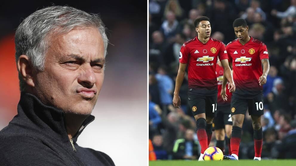 José Mourinho sparkas av Manchester United  ca63735bf3570