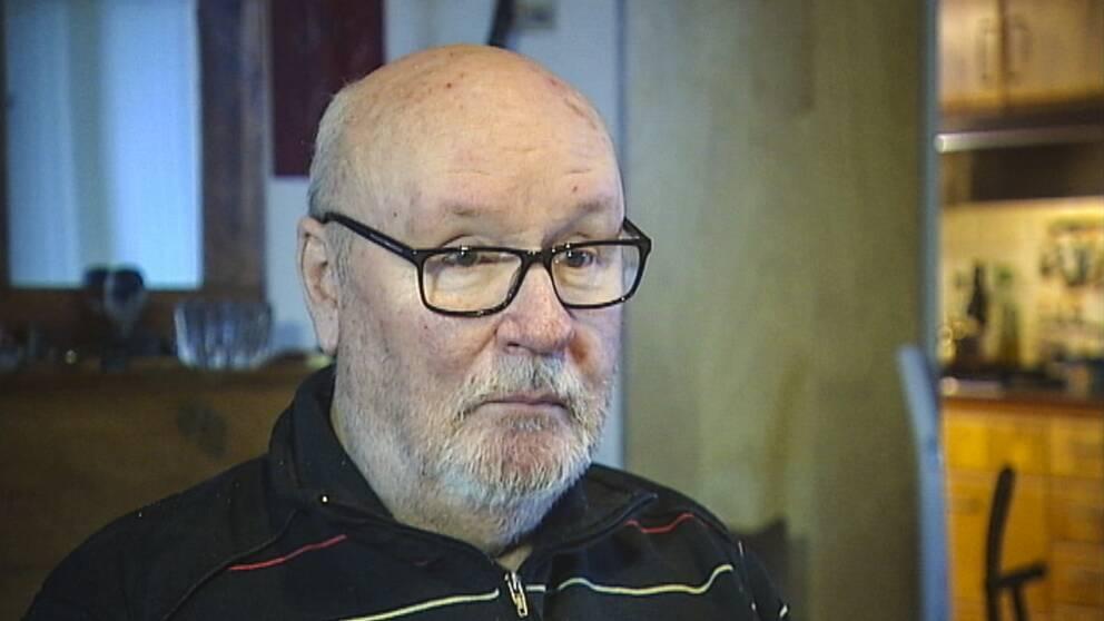 Robert Rosén, fd chefredaktör för Gefle Dagblad.