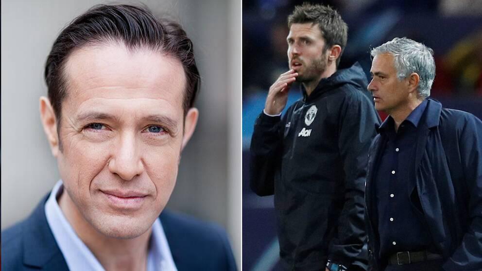 Peter Rawet, ekonomireporter på SVT, om att José Mourinhos avsked i Manchester United gjorde att klubbens aktie steg med fem procent.