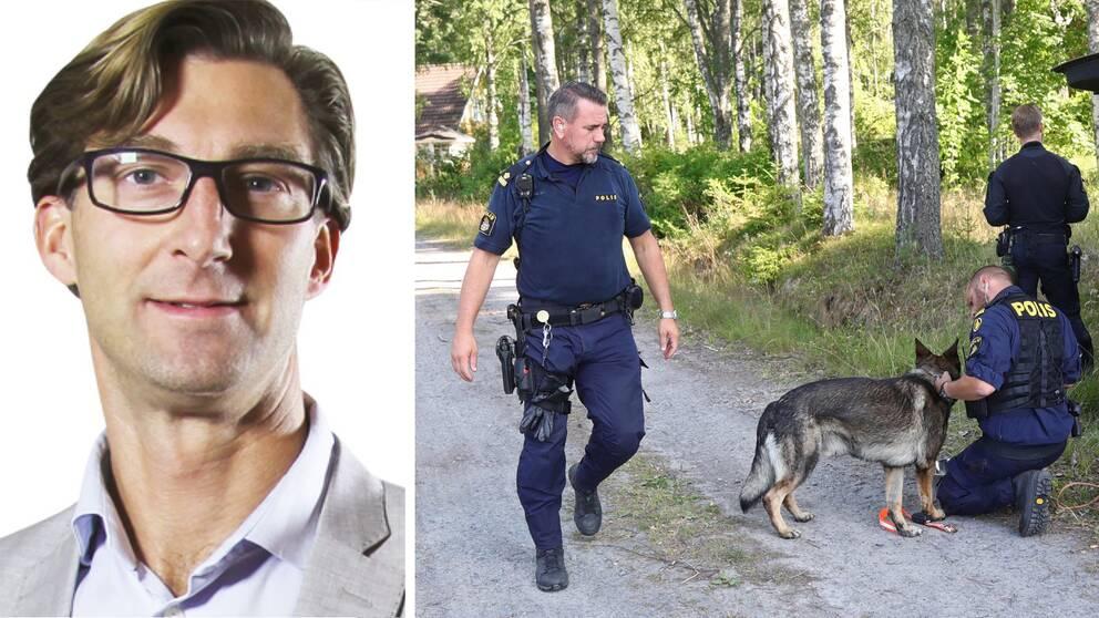 Johan Mellbring, chef för Kriminalvårdens nationella transportenhet.