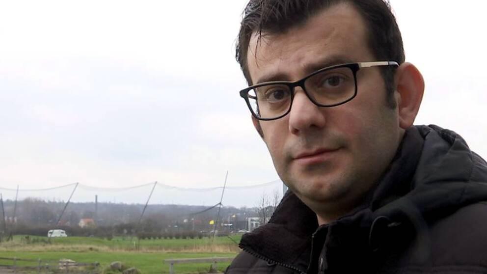 Fabio Ishaq, SD-ordförande i Halmstad