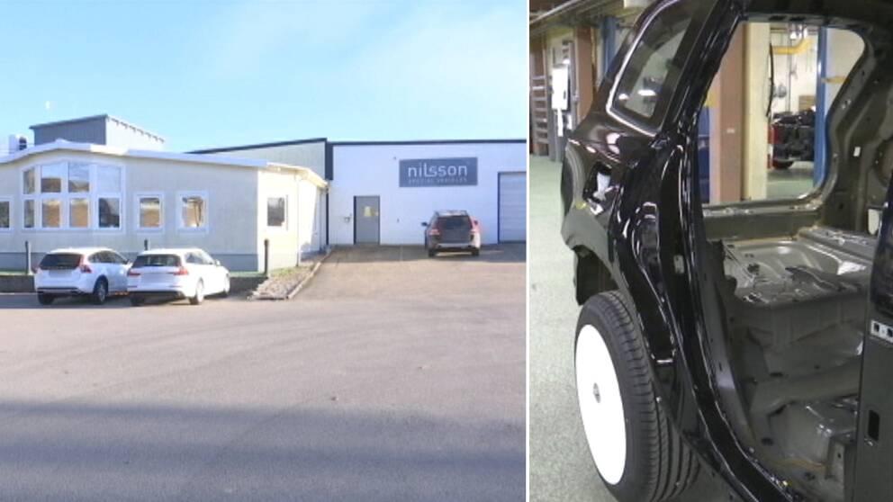 Bilföretaget Nilsson special vehicles ligger i Laholms kommun.