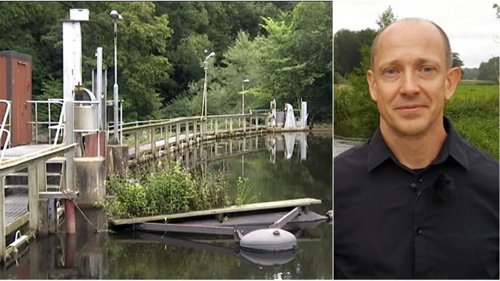 """""""Ett viktigt beslut för ålbeståndet"""", säger Tord Andersson miljöstrateg i Klippans kommun."""