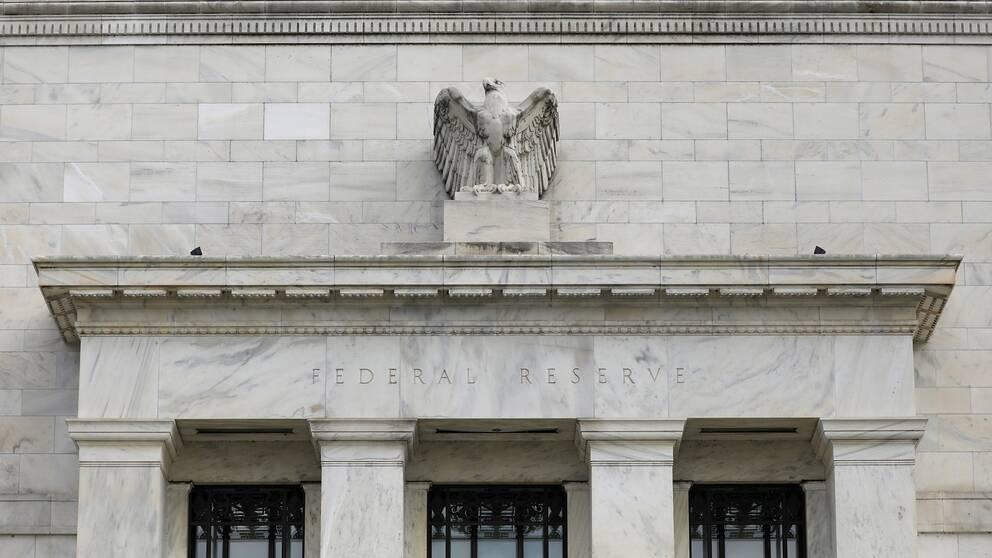 Centralbanksbyggnaden i Washington.