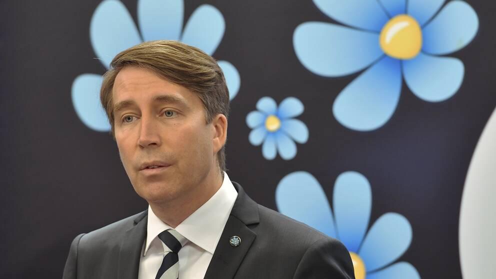 SD:s partisekreterare Richard Jomshof
