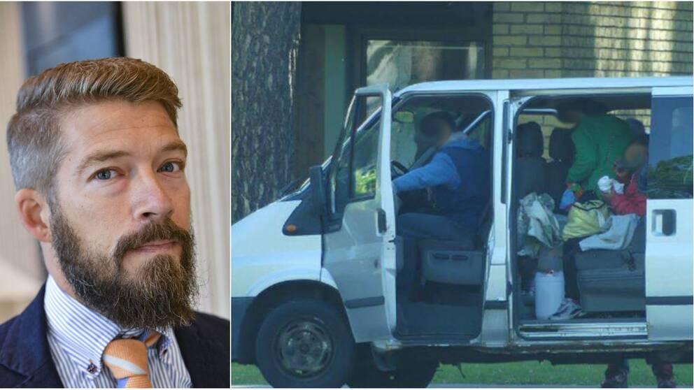 """""""Utredningen inte alls så robust"""", säger Erik Johnsson, advokat för en av de dömda männen."""