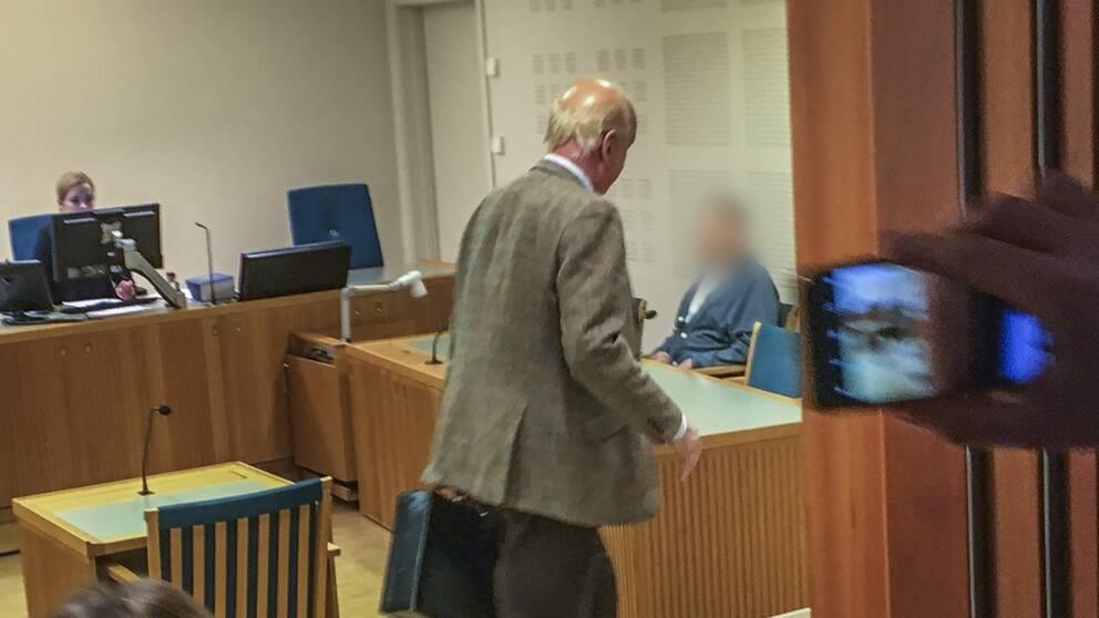 Häktningsförhandling om misstänkta mordförsöket i centrala Gävle.