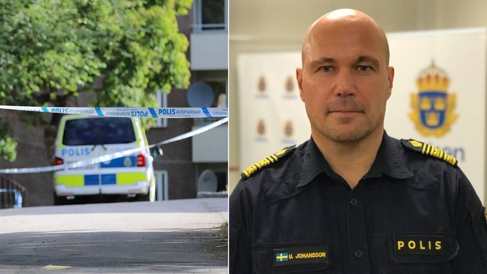 Ulf Johansson, regionpolismästare i Stockholm.