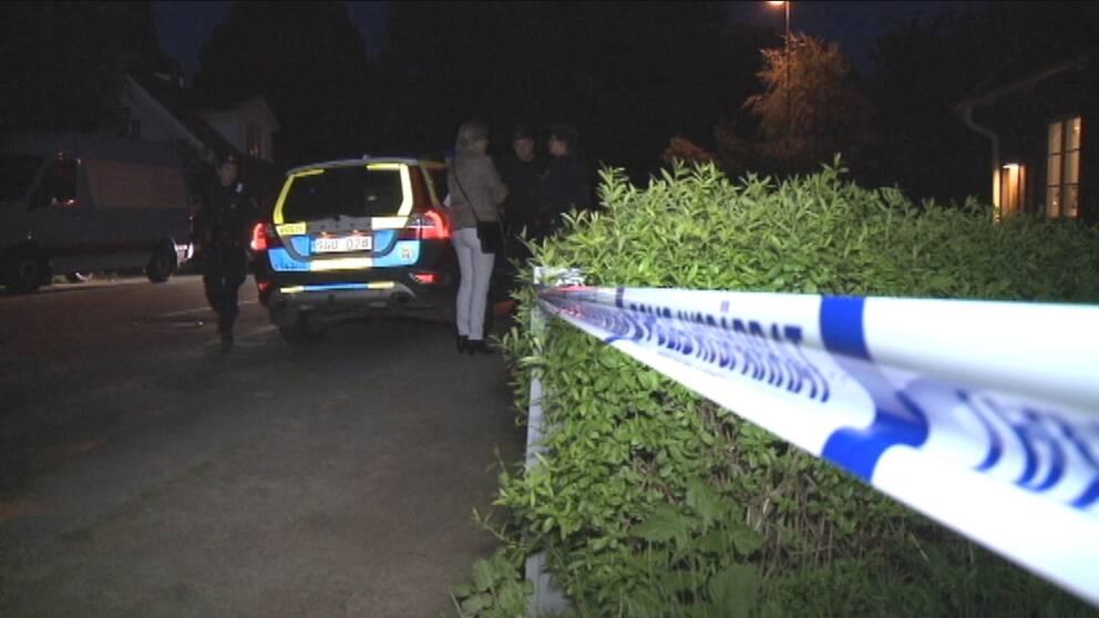 Mordad kvinna ringde polisen
