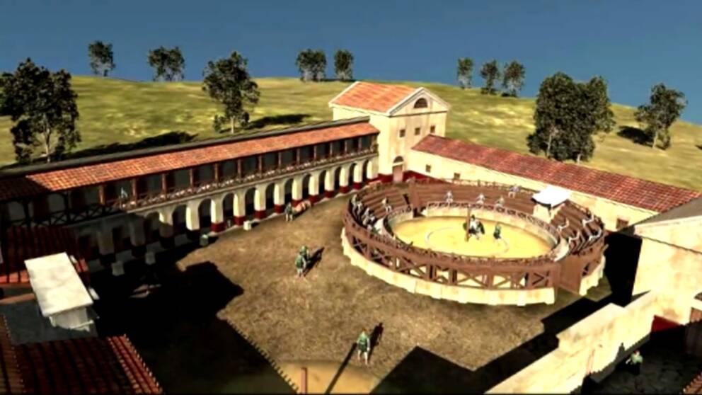Gladiatorerna ar tillbaka pa arenan