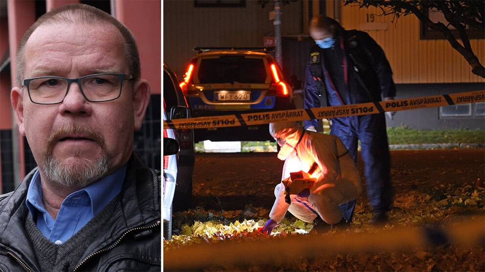 Lars Franzell, chef för polisens enhet för grova brott i Eskilstuna