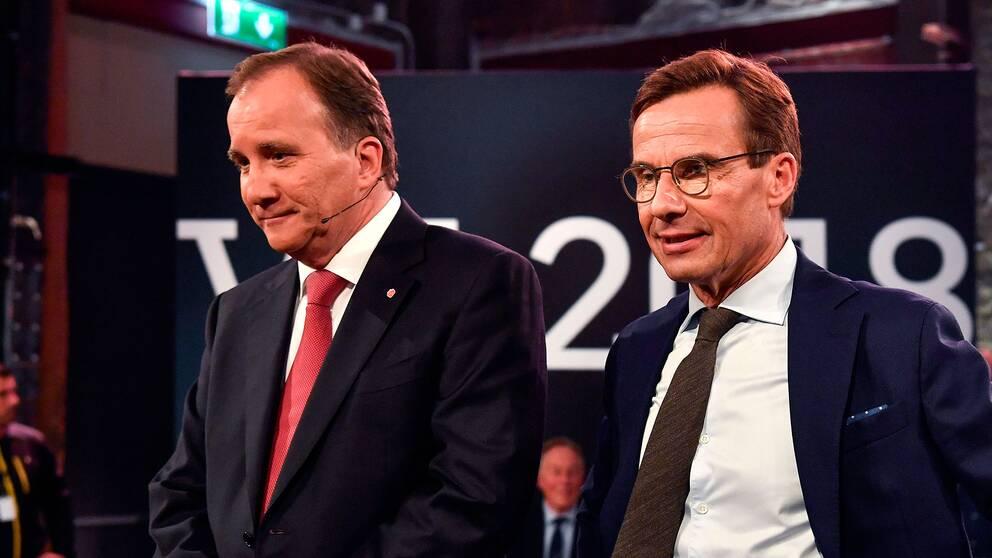 Stefan Löfven (S) och Ulf Kristersson (M) har lämnat sina första delrapporter till talman Andreas Norlén
