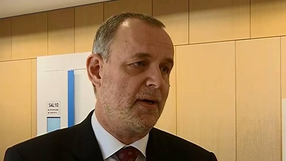 Anders Tolke, 16-åringens advokat i målet om mordet på hemlöse Gica.