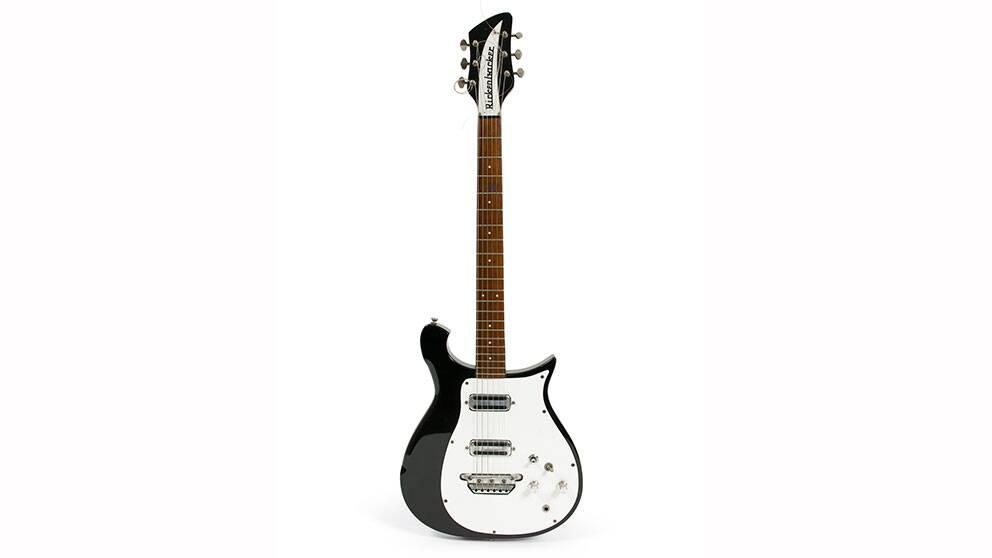 George Harrisons gitarr nu såld.