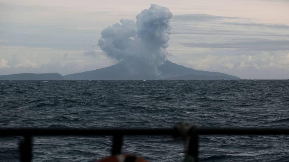 Vulkanen Anak Krakatoa