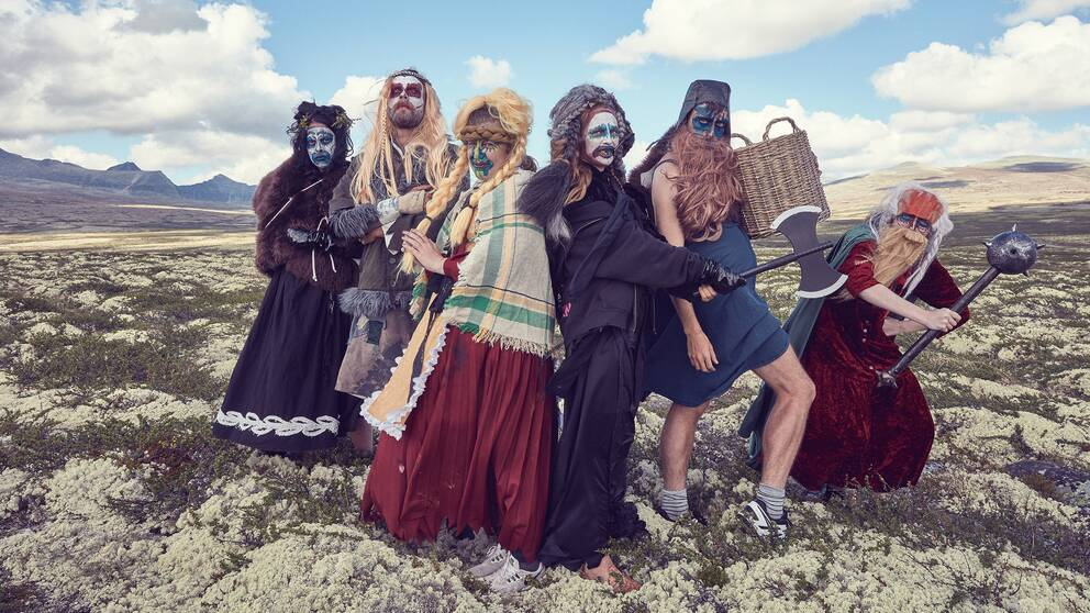 Föreställningen Vikingarna på Helgeland på Turteatern i Stockholm