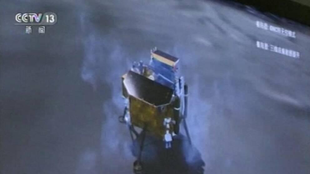 Den kinesiska rymdsonden Chang'e-4