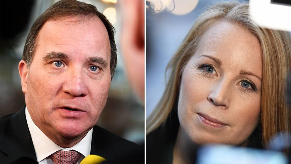 Stefan Löfven och Annie Lööf