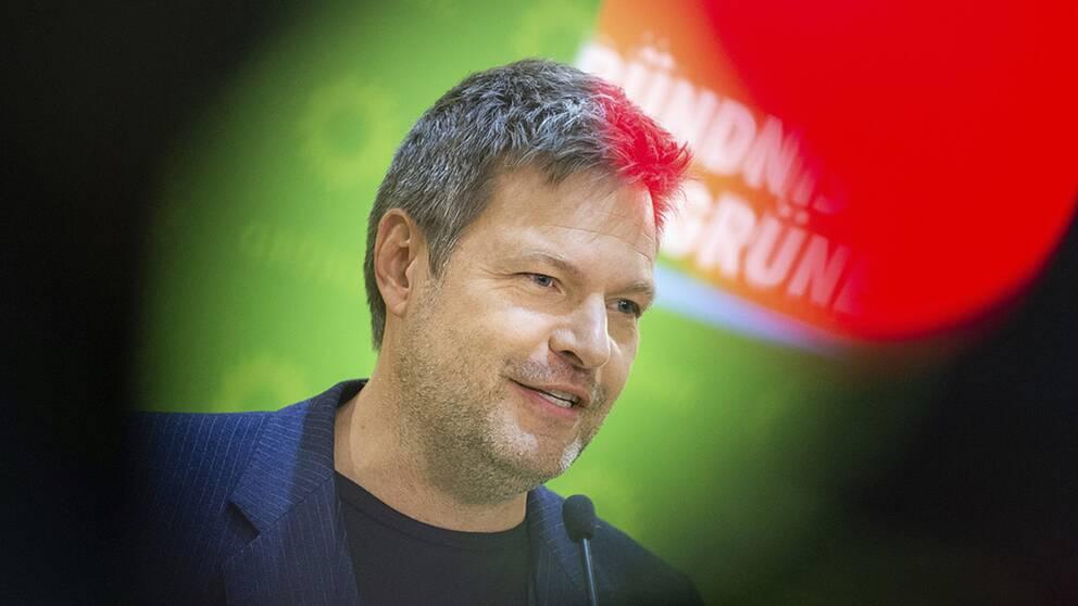 Robert Habeck är ett av språkrören för det tyska miljöpartiet De Gröna.