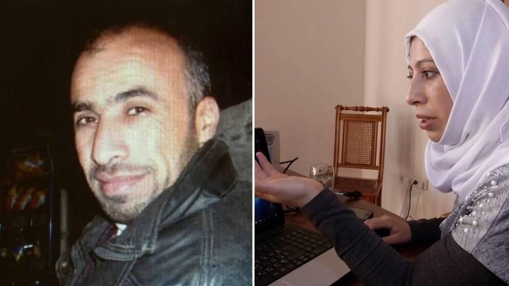 Yasmin Mashan förlorade sin bror i ett av den syriska regimens fängelser.