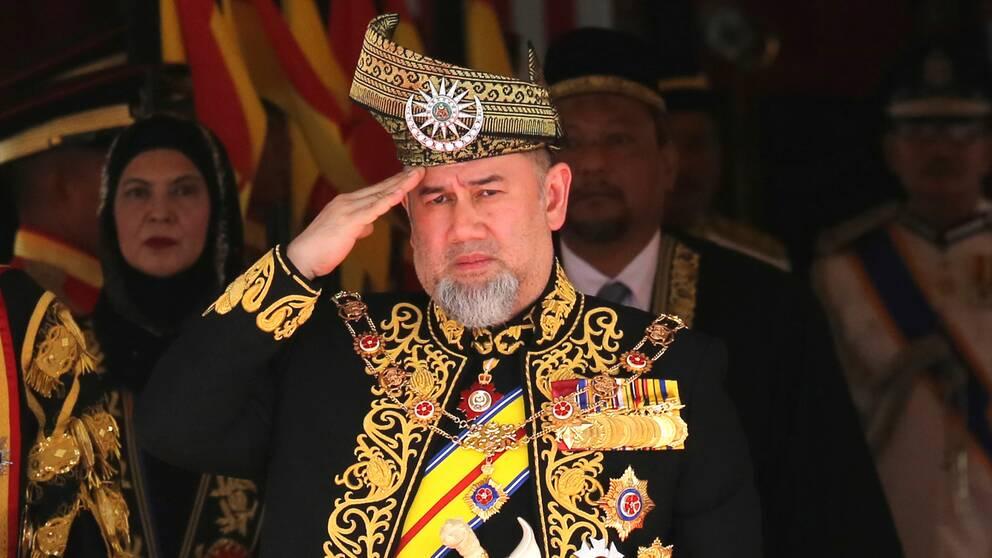 Malaysias kung Sultan Muhammad V.