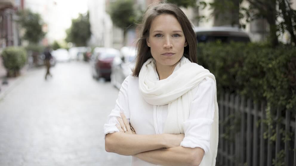 Journalisten och författaren Fanny Härgestam.