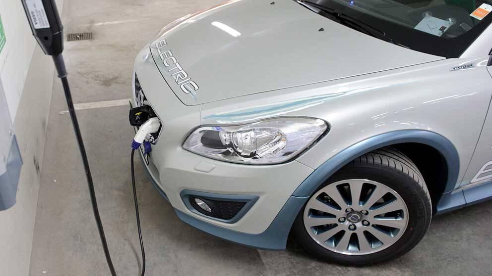 Tankning av elbil
