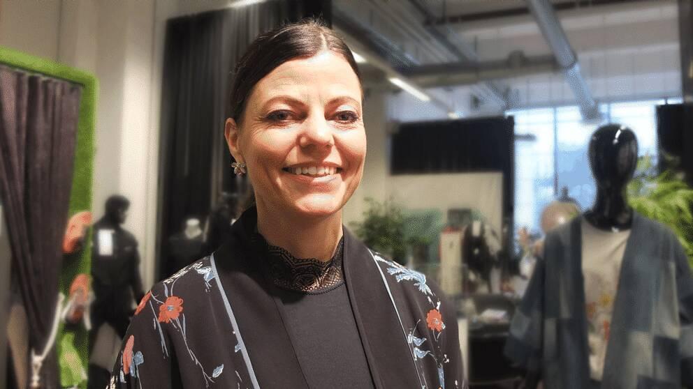 Susanne Nejderås är verksamhetschef för plattformen för hållbart mode på Textilhögskolan i Borås.