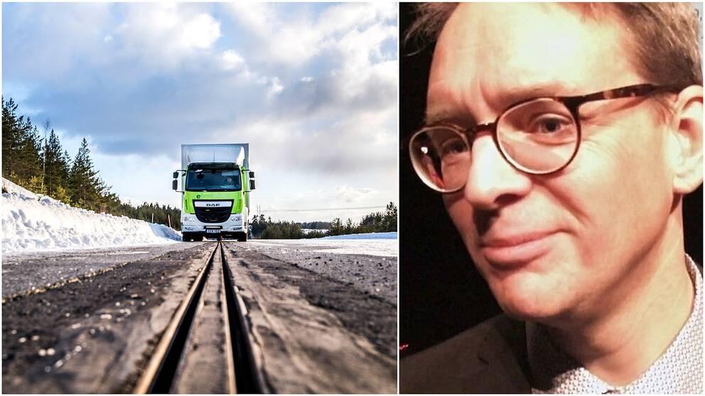 Martin Gustavsson elvägsforskare RISE Victoria Transportforum Linköping