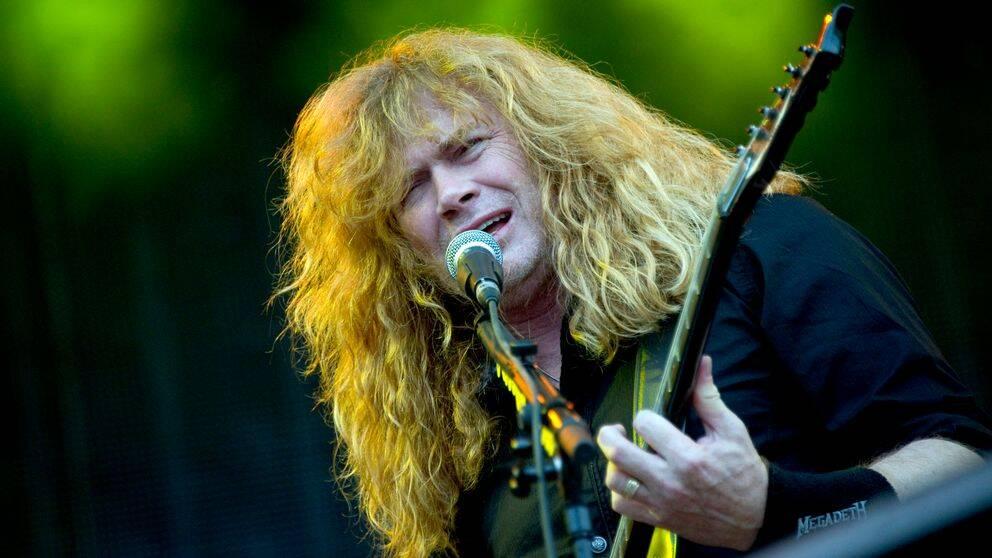 Dave Mustaine och hans Megadeth.