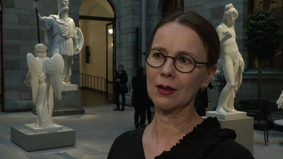 Susanna Pettersson, Nationalmuseets chef, menar att museernas utbud är avgörande för antalet besökare.