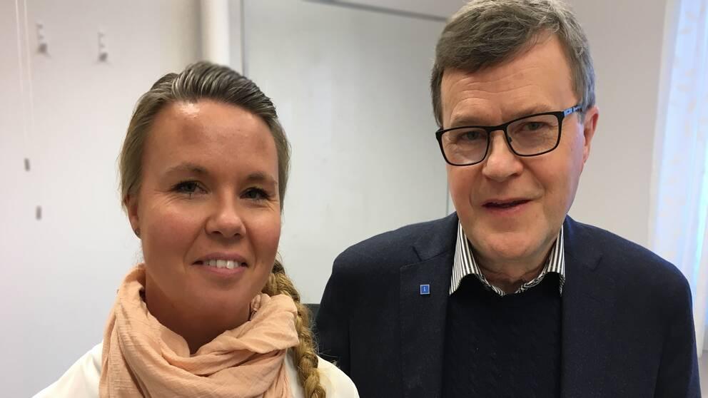 Nina Skyttberg (S) 1: vice ordförande, Arbetslivsnämnden Sverker Ågren (KD) ordförande, Arbetslivsnämnden