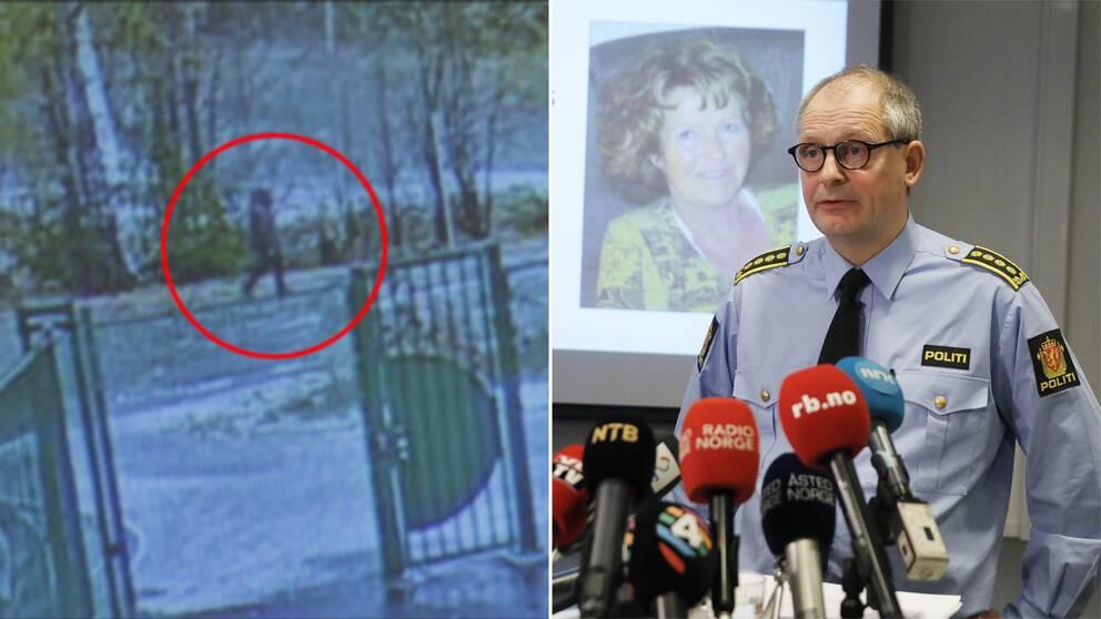 PolisenTommy Brøske under en presskonferens.