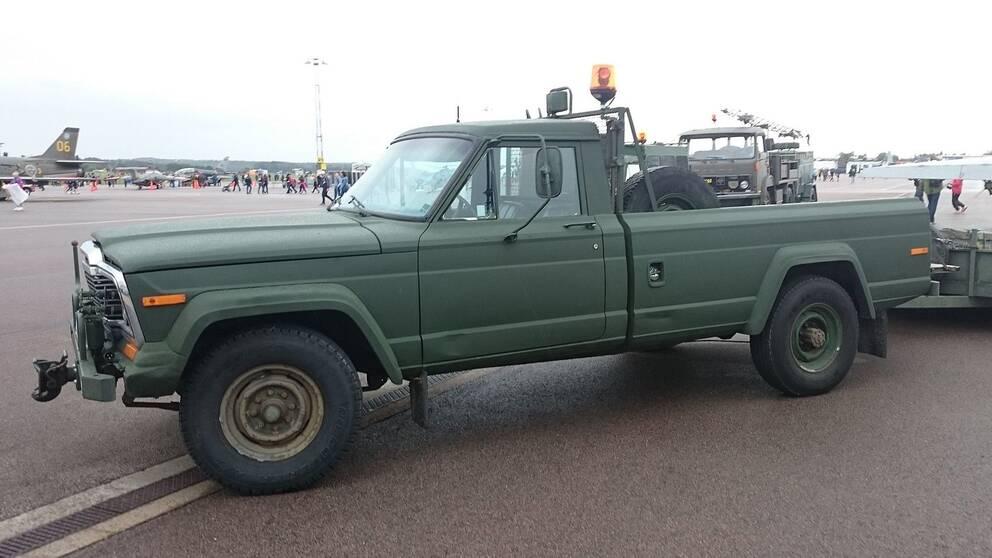 Klargöringsbil 9711, dallas-jeep, dallasbil