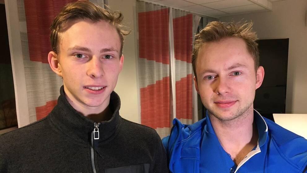 Nikolaj och Alexander Majorov