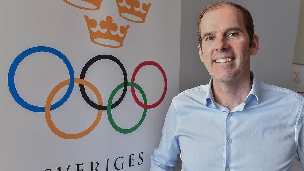 Richard Brisius, kampanjchef för Sveriges OS-ansökan.