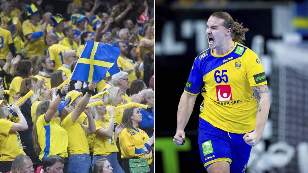 Lukas Nilsson hyllade publikstödet i Köpenhamn.