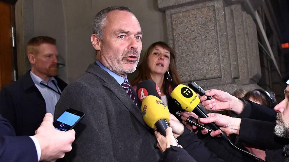 """Jan Björklund (L): """"Alliansen är pausad om den här överenskommelsen går igenom"""""""